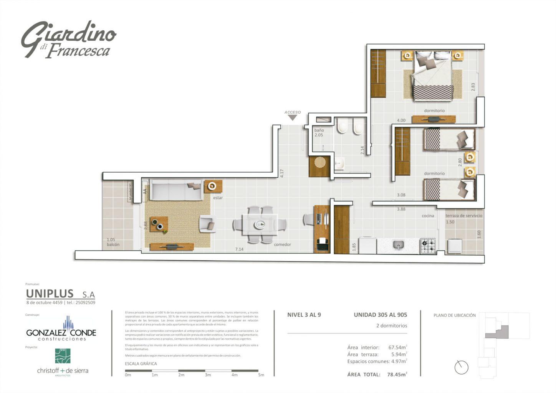 Giardino di Francesca - 2 dormitorios