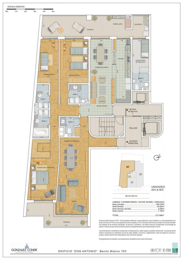 Edificio Don Antonio - 3 dormitorios
