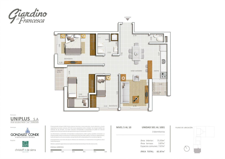 Giardino di Francesca - 3 dormitorios